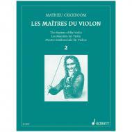 Crickboom, M.: Les Maîtres du Violon Vol. 2