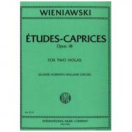 Wieniawski, H.: Etudes-Caprices op. 18 für 2 Violen