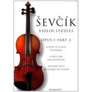 Sevcik, O.: Schule der Violintechnik Op. 1, Heft 2