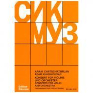 Chatschaturjan, A.: Violinkonzert 1940 d-Moll – Partitur