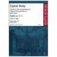 Wutky, C.: Duetto Op. 2/1 C-Dur