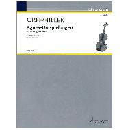 Hiller, W. / Orff, C.: Agnes-Umspielungen