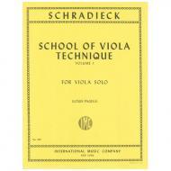 Schradieck, H.: Schule der Viola-Technik Band 1