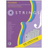 4 Strings – Pioneer – komplett (+CD)