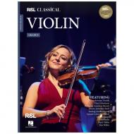 RSL Classical Violin - Grade 8 (+Online Audio)