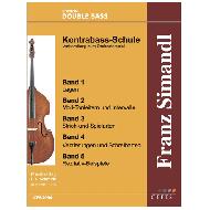Simandl, F.: Kontrabass-Schule – Teil 1 Vorbereitung zum Orchesterspiel
