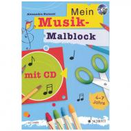 Ziegler/Kumant: Mon livre musical à colorier (+CD)