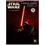 Williams, J.: Star Wars Episodes 1-6 (+CD)