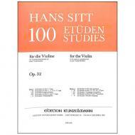 Sitt, H.: 100 Etüden Op. 32 Band 1