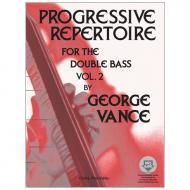 Vance, G.: Progressive Repertoire Band 2 (+Online Audio)