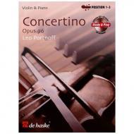 Portnoff, L.: Concertino Op. 96 (+CD)