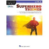 Superhero Themes for Viola (+Online Audio)