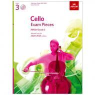 ABRSM: Cello Exam Pieces Grade 3 (2020-2023) (+CD)