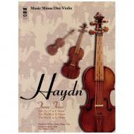 Haydn: Three Trios No.29 in F major & No. 30 in D major & No.31 in G major (+CD)