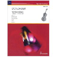 Dotzauer, J. J. F.: 12 Etüden Op. 107