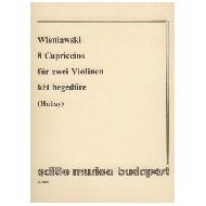 Wieniawski, H.: 8 Capriccios