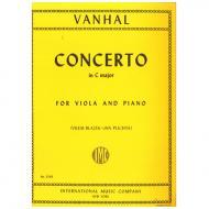 Vanhal, J. B.: Violakonzert C-Dur