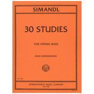 Simandl, F.: 30 Studies for the Development of Tone