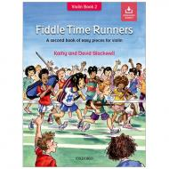 Blackwell, K. & D.: Fiddle Time Runners – Vol 2 (+Online Audio)