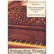 Schubert, F.: Sechzehn Wiener Damen-Ländler und zwei Eccossaisen Op. 67 D 734