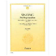 Sinding, Chr. Frühlingsrauschen op. 32/3