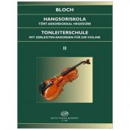 Bloch, J.: Tonleiterschule Op. 5 Nr. 2