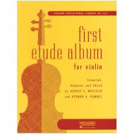 First Etude Album for Violin