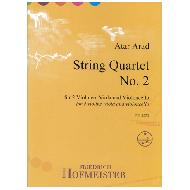 Arad, A.: String Quartet No. 2