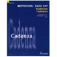 Beethoven, L. v. / Say, F.: Kadenzen Violinkonzert Op. 61 D-Dur (2020)