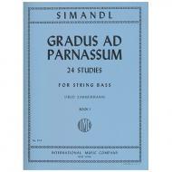 Simandl, F.: 24 Studies Gradus ad Parnassum