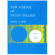 Carse, A.: New School of Violin Studies – Book 2