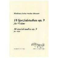 Scharwenka-Stresow, M.: 10 Spezialstudien Op. 9