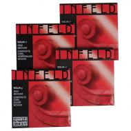 INFELD ROUGE cordes violon JEU de Thomastik-Infeld