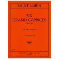 Saint-Lubin, L. d.: 6 Grand Caprices Op. 42
