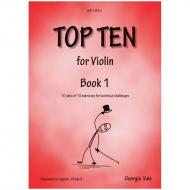Vale, G.: Top Ten for Violin Book 1