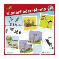 Kinderlieder-Memo – Gedächtnisspiel (+CD)