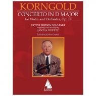 Korngold, E. W.: Violin Concerto in D Major, Op. 35