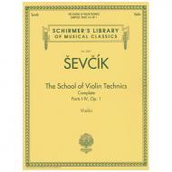 Sevcik, O.: The School of Violin Technics Complete