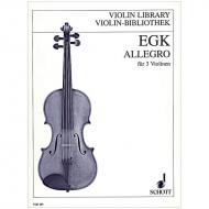 Egk, W.: Allegro (1923)