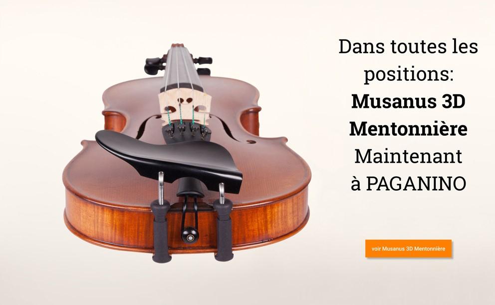 MUSANUS 3D Mentonnière >