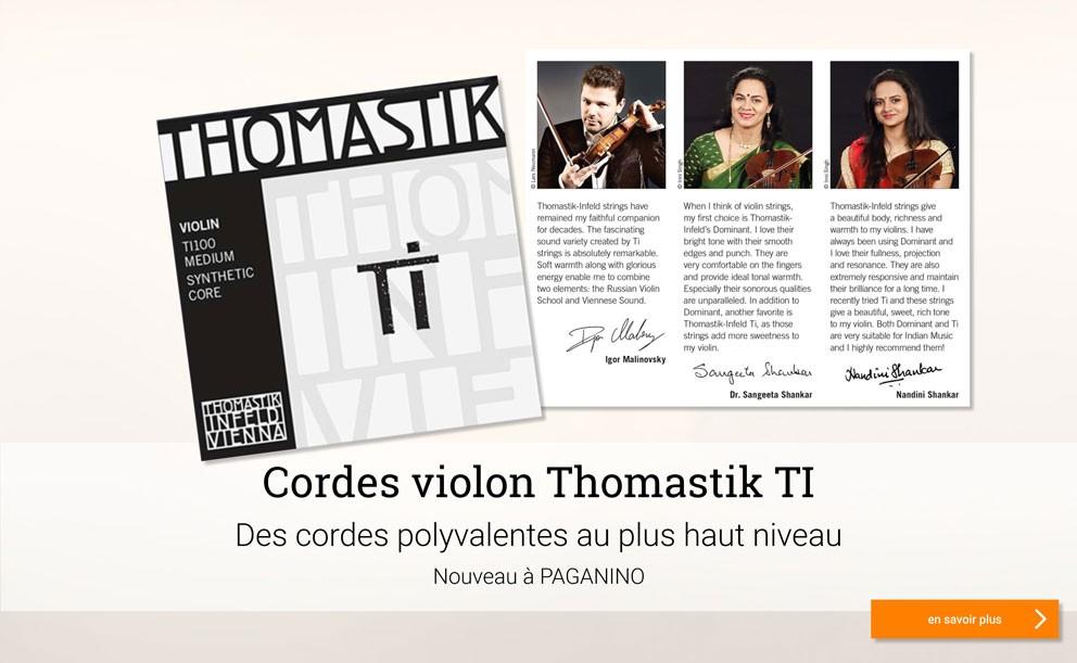THOMASTIK TI cordes violon >