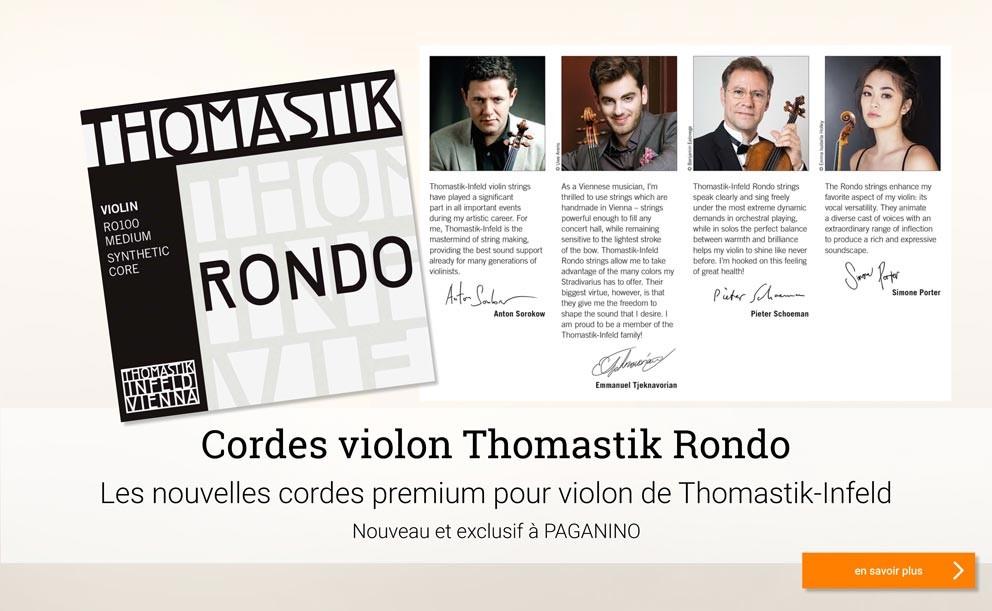 THOMASTIK Rondo cordes violon >
