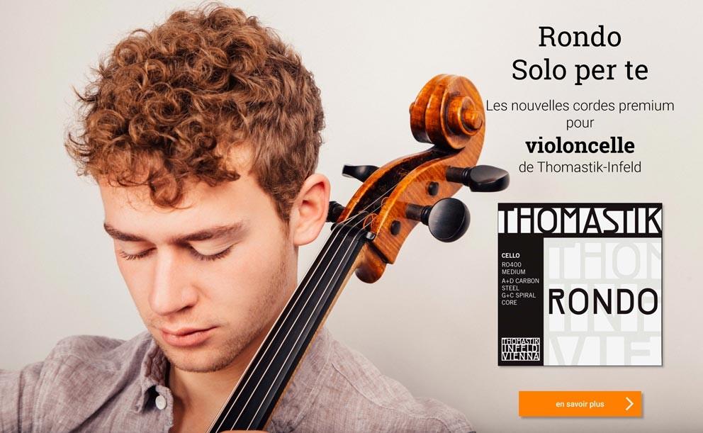 THOMASTIK Rondo cordes violoncelle >